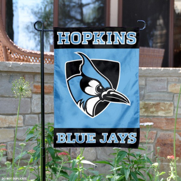 Johns Hopkins University Garden Flag is 13x18 inches in size, is made of 2-layer polyester, screen printed Johns Hopkins University athletic logos and lettering. Available with Same Day Express Shipping, Our Johns Hopkins University Garden Flag is officially licensed and approved by Johns Hopkins University and the NCAA.