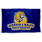Johnson and Wales University Wildcats Logo Flag