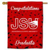 JSU Gamecocks Congratulations Graduate Flag