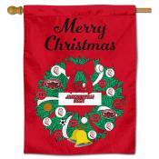 JSU Gamecocks Happy Holidays Banner Flag