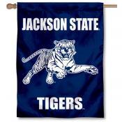 JSU Tigers Wordmark House Flag