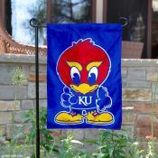 Kansas Baby Jayhawk Garden Flag