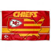 Kansas City Chiefs USA Country Flag