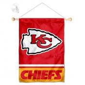Kansas City Chiefs Window and Wall Banner