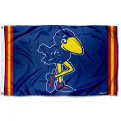 Kansas Jayhawks Throwback Vault Logo Flag