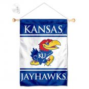 Kansas KU Jayhawks Window and Wall Banner