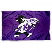 Kansas State Throwback Flag