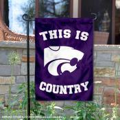 Kansas State University Country Garden Flag