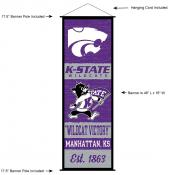 Kansas State University Decor and Banner