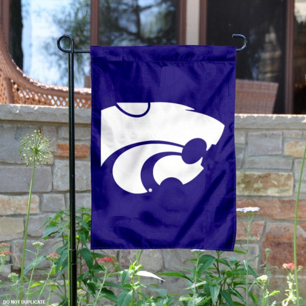 Kansas State University Garden Flag measures 13x18 inches, is made of thick polyester, and has dye sublimated university logos and lettering. Our Kansas State University Garden Flag is officially licensed by the NCAA and university garden flags are perfect for your garden, entranceway, mailbox, or window.