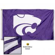 Kansas State Wildcats Nylon Embroidered Flag