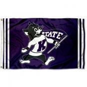 Kansas State Wildcats Throwback Vault Logo Flag