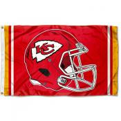 KC Chiefs New Helmet Flag