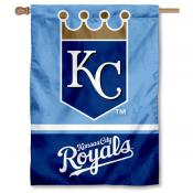 KC Royals Double Sided House Flag