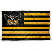 Kennesaw State Owls Stripes Flag
