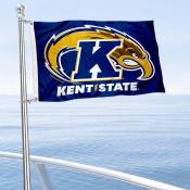 Kent State Golden Flashes Boat and Mini Flag