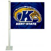 Kent State Golden Flashes Logo Car Flag