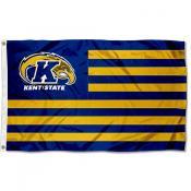 Kent State Golden Flashes New Logo Stripes Flag