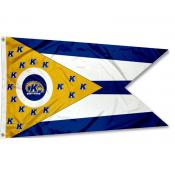 Kent State Golden Flashes State of Ohio Flag