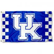 Kentucky Wildcats Checkered Board Flag