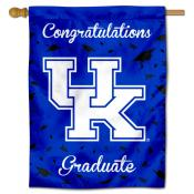 Kentucky Wildcats Congratulations Graduate Flag