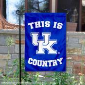 Kentucky Wildcats Country Garden Flag