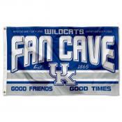 Kentucky Wildcats Fan Man Cave Game Room Banner Flag