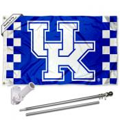Kentucky Wildcats Flag Pole and Bracket Kit