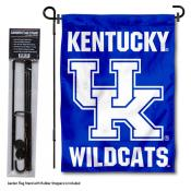 Kentucky Wildcats Garden Flag and Pole Stand Mount