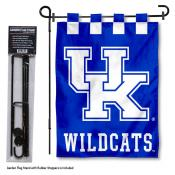 Kentucky Wildcats Garden Flag and Stand