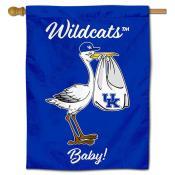 Kentucky Wildcats New Baby Flag