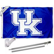 Kentucky Wildcats New UK Flag Pole and Bracket Kit