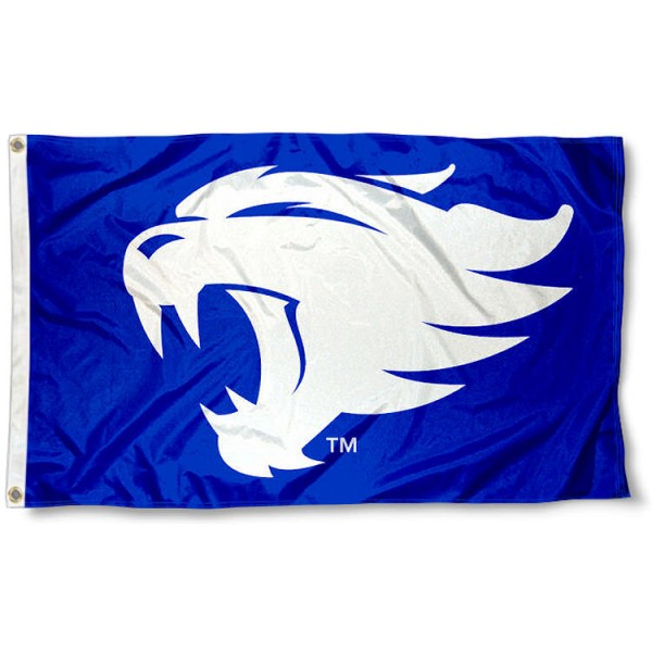 Kentucky Wildcats New Wildcat Logo Flag measures 3'x5', is made of 100% poly, has quadruple stitched sewing, two metal grommets, and has double sided Team University logos. Our UK Wildcats New Wildcat Logo Flag is officially licensed by the selected university and the NCAA.