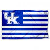 Kentucky Wildcats Stripes Flag