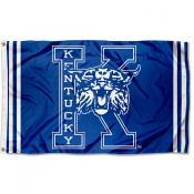 Kentucky Wildcats Throwback Vault Logo Flag