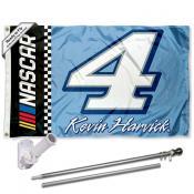 Kevin Harvick Flag Pole and Bracket Mount Kit