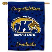 KSU Golden Flashes Congratulations Graduate Flag
