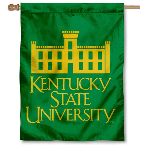 KSU Thorobreds House Flag is a vertical house flag which measures 30x40 inches, is made of 2 ply 100% polyester, offers screen printed NCAA team insignias, and has a top pole sleeve to hang vertically. Our KSU Thorobreds House Flag is officially licensed by the selected university and the NCAA.