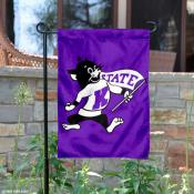 KSU Wildcats Throwback Logo Garden Flag