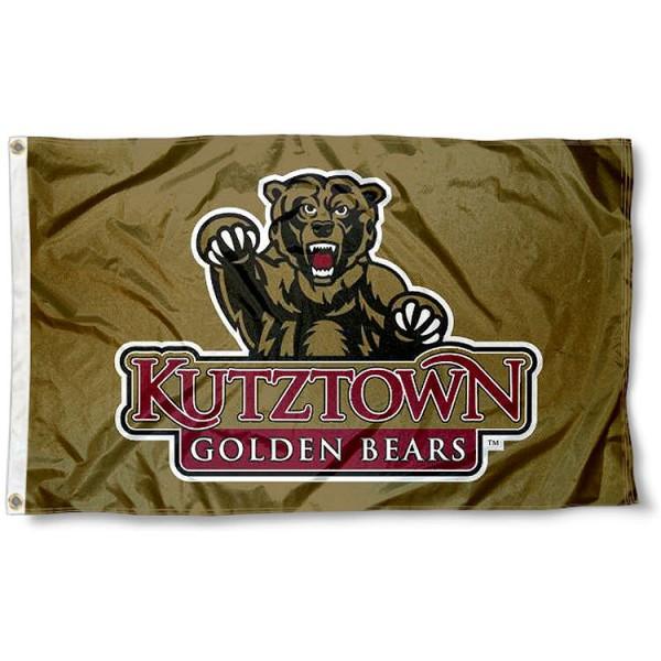 Ku Bears Gold Logo Flag And Flags For Ku Bears