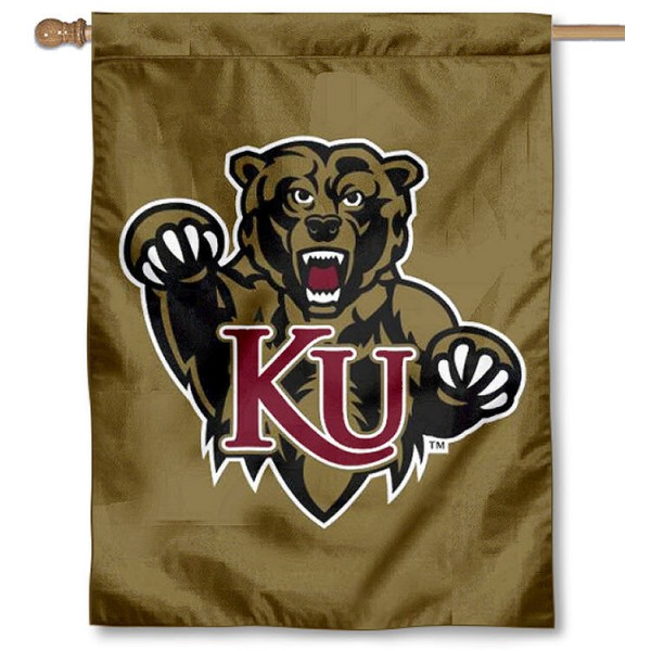Kutztown University Banner Flag is a vertical house flag which measures 30x40 inches, is made of 2 ply 100% polyester, offers dye sublimated NCAA team insignias, and has a top pole sleeve to hang vertically. Our Kutztown University Banner Flag is officially licensed by the selected university and the NCAA.