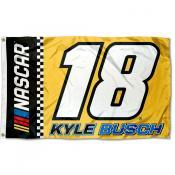 Kyle Busch 3x5 Large Banner Flag