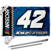Kyle Larson Flag Pole and Bracket Mount Kit