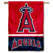 LA Angels Double Sided House Flag