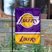LA Lakers Double Sided Garden Flag
