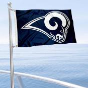 LA Rams Boat and Nautical Flag
