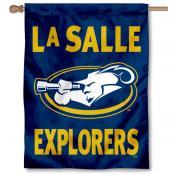 La Salle University Banner Flag