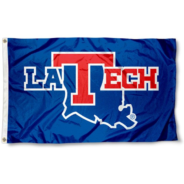 LA Tech 3x5 Flag measures 3'x5', is made of 100% poly, has quadruple stitched sewing, two metal grommets, and has double sided Team University logos. Our LA Tech 3x5 Flag is officially licensed by the selected university and the NCAA.