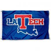 LA Tech 3x5 Flag