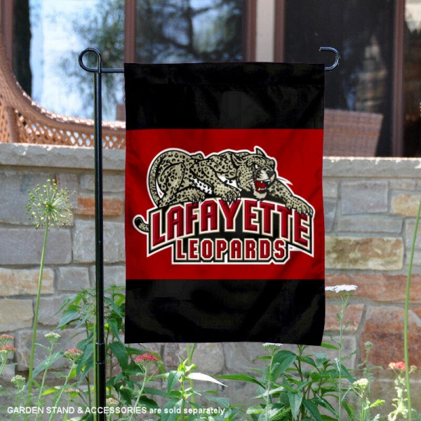 Lafayette College Garden Flag is 13x18 inches in size, is made of 2-layer polyester, screen printed Lafayette College athletic logos and lettering. Available with Same Day Express Shipping, Our Lafayette College Garden Flag is officially licensed and approved by Lafayette College and the NCAA.